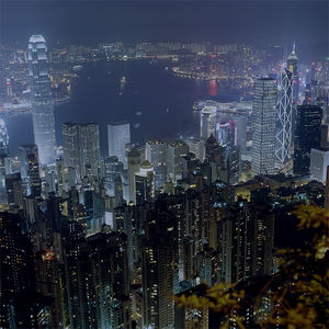 Flickr Photo Download: Hong Kong at night