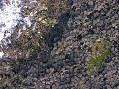 Flickr Photo Download: Aerial view of Giant's Causeway