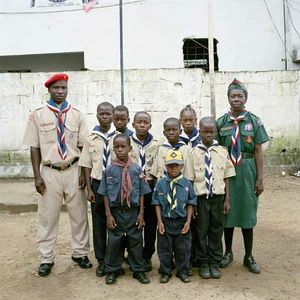 Liberia Scout Association, Troup 17, Monrovia, Liberia, 2006 - PIETER HUGO