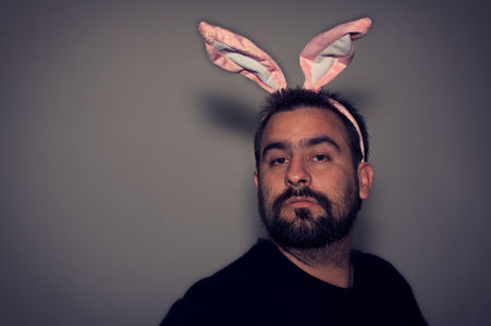 Flickr Photo Download: selfportrait with bunny ears