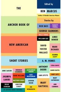 Book Covers - The Anchor Book of New American Short Stories