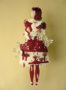 Flickr Photo Download: Paper Sculpture (Red and White)