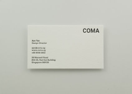 Flickr Photo Download: COMA Business Card