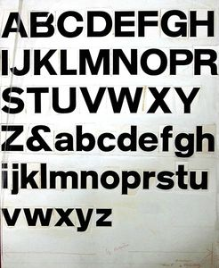 Flickr Photo Download: Type design in the late 1950's
