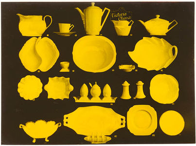Flickr Photo Download: Victoria China dinnerware, 1930s   Sam Hood