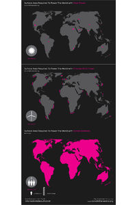 Flickr Photo Download: Surface Area Required To Power The World (revision)