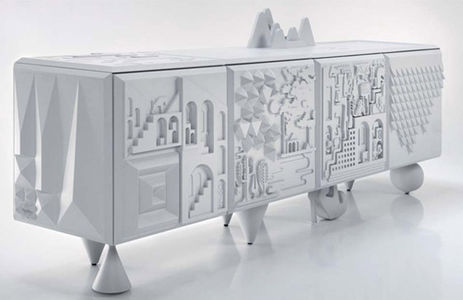 Cabinet Tout va bien by Antoine Marcel | mecho - the style black book