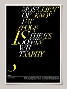 30 Typography Posters That You've Probably Never Seen Before | Webdesigner Depot