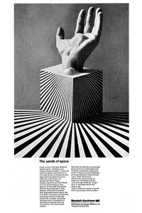 Item 32: The sands of space advertisement   Les Mason   1974 « Recollection