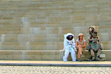 Edinburgh A-Z (2) : A is for Astronaut, Explorer & Dinosaur. on Flickr - Photo Sharing!