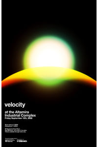 Flickr Photo Download: Velocity Poster