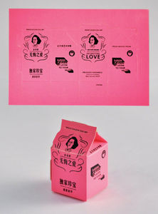 Milk Carton Postcards Project | design work life