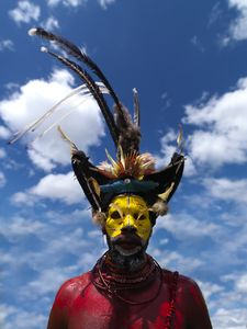 Flickr Photo Download: Huli warrior Papua New Guinea