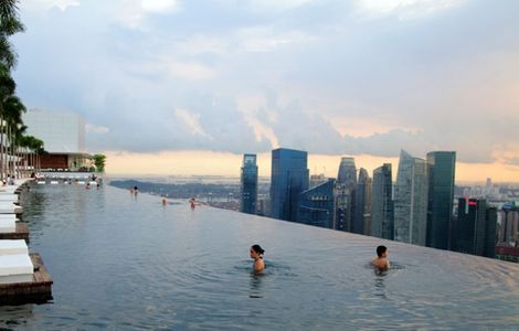 150-Meter Outdoor Infinity Pool    Marina Bay Sands | Yatzer™