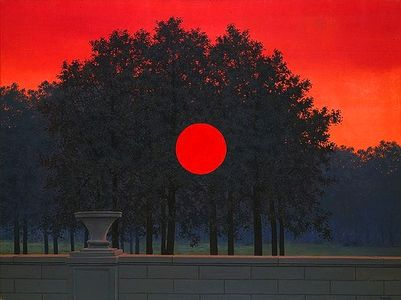 René Magritte this isnt happiness.™