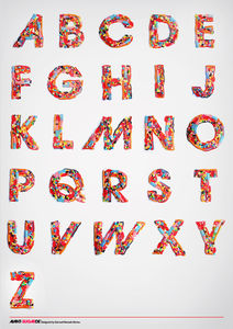I Want Candy Experimental Typography 2009 on the Behance Network