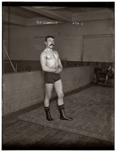 Irish wrestler from 1909 op3  Flickr - Photo Sharing