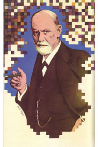 13 Sigmund Freud, illus. Wyss (Le Livre de Sante, v.9, 1967) | Flickr - Photo Sharing!