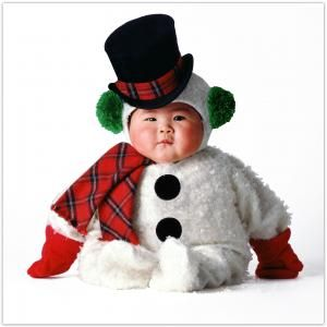 Tom Arma Snowbaby - Holiday Costumes