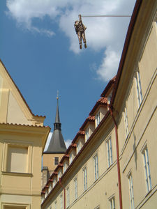 "Flickr Photo Download: Husova Street, Prague. ""Hanging Out"" by David Cerny"