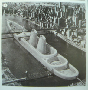 Flickr Photo Download: Julio Lafuente. Reconfiguration study for Roosevelt Island, NY
