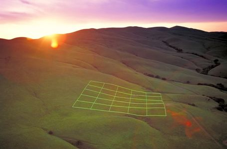 Luminous Earth Grid, © Stuart Williams on the Behance Network