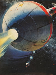 Flickr Photo Download: space station of the future (1961)