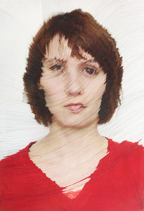 Time-lapse Portraits Layered and Cut to Reveal the Passage of Time  Colossal