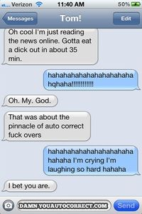 Damn You Auto Correct - Funny iPhone Fails and Autocorrect Horror Stories