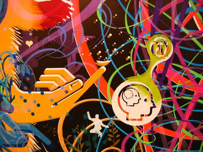 Flickr Photo Download: Ryan McGinness (detail)