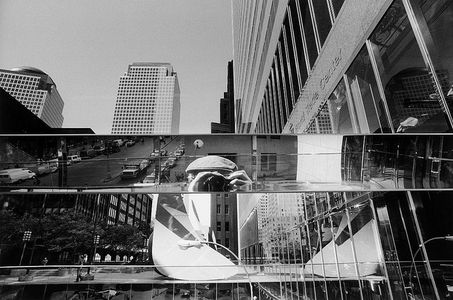 Hartmann, Erich 1922-1999 - 1990 Self-Portrait at World Trade Center  Flickr : partage de photos