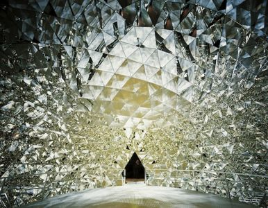 Crystal Dome by Swarovski  Coolart  Daily Inspiration on WhereCoolThingsHappen