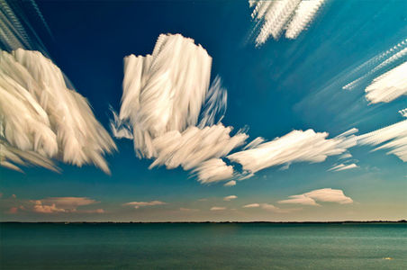 Smeared Skies Made from Hundreds of Stacked Photographs by Matt Molloy | Colossal