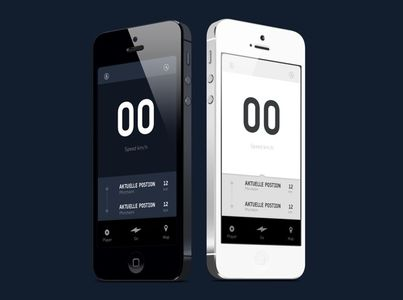 etapes App on Behance