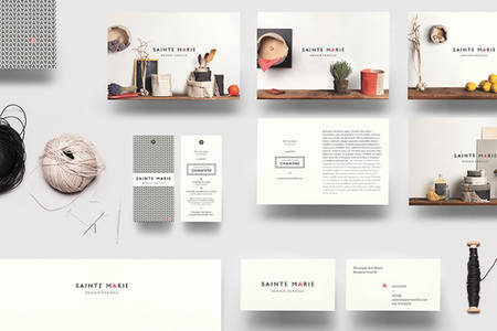 Sainte Marie on Behance