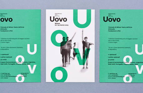 Uovo Performing Art Festival on Behance