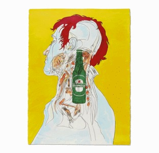 heineken asks 40 legendary individuals to craft posters with epic stories