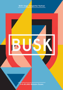 Busk - Singer Songwriter Festival on Behance