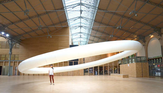 Kinetic Sculpture Hovers Like An Ethereal Halo | The Creators Project
