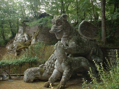 Flickr Photo Download: Bomarzo [Parco dei Mostri] Il Drago