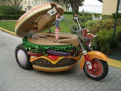 Flickr Photo Download: hamburger-motorcycle