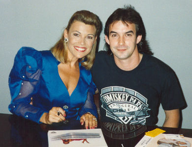 Flickr Photo Download: Meeting Vanna White in 1992