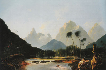 Flickr Photo Download: Tahiti Revisited, William Hodges, 1776