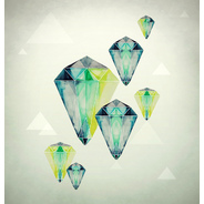 Watercolor Crystals by Eika Dopludo