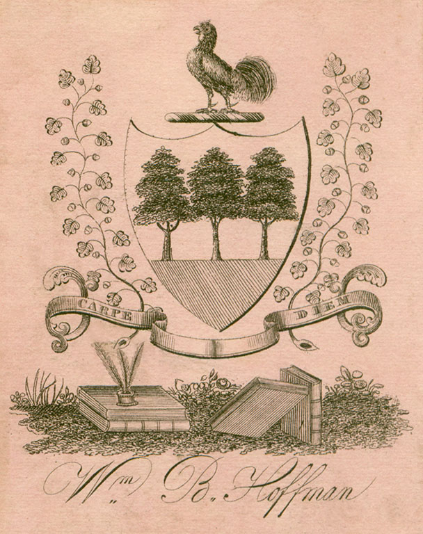 Flickr Photo Download: [Bookplate of William B. Hoffman]