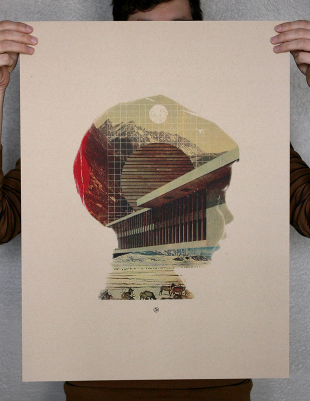 Flickr Photo Download: Self Portrait Screen Print