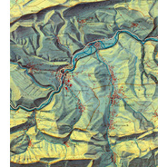 Geovisualization communicates geospatial information in ways that,… - but does it float