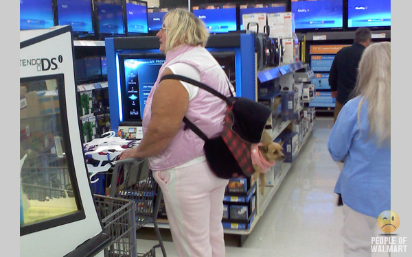 People of Walmart: a collection of all the creatures that grace us with their presence at Walmart, America's favorite store.