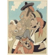 All sizes | 22 Albert Dubout, illus. for L'Ingenieux Hidalgo Don Quichotte de la Manche, 1938 | Flickr - Photo Sharing!