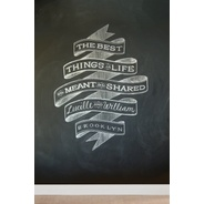 Artist Creates Beautiful Typography Using Chalk - DesignTAXI.com
